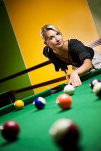 Billiards and games